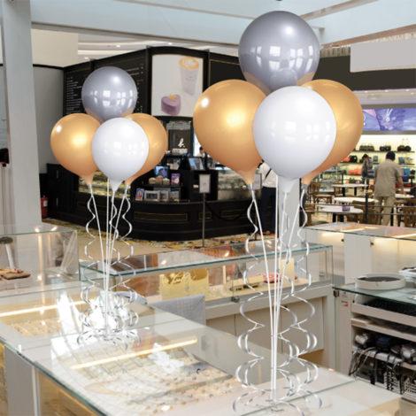 PermaShine Quadruple Table Top Balloon Display 1