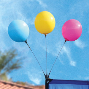 360Five Flags Triple Balloon Topper