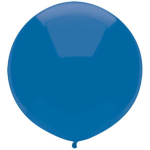 Helium Balloon Blue Giant