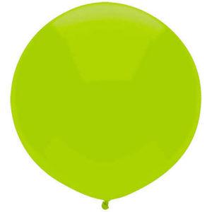 Helium Balloon Kiwi Lime
