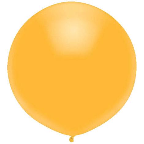 Helium Balloon Metallic Gold