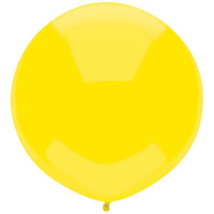 Helium Balloon Yellow