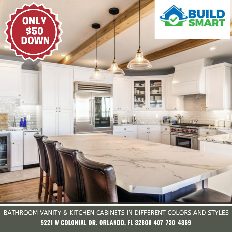 KITCHEN REMODEL SUPPLIES ONLY $50 DOWN