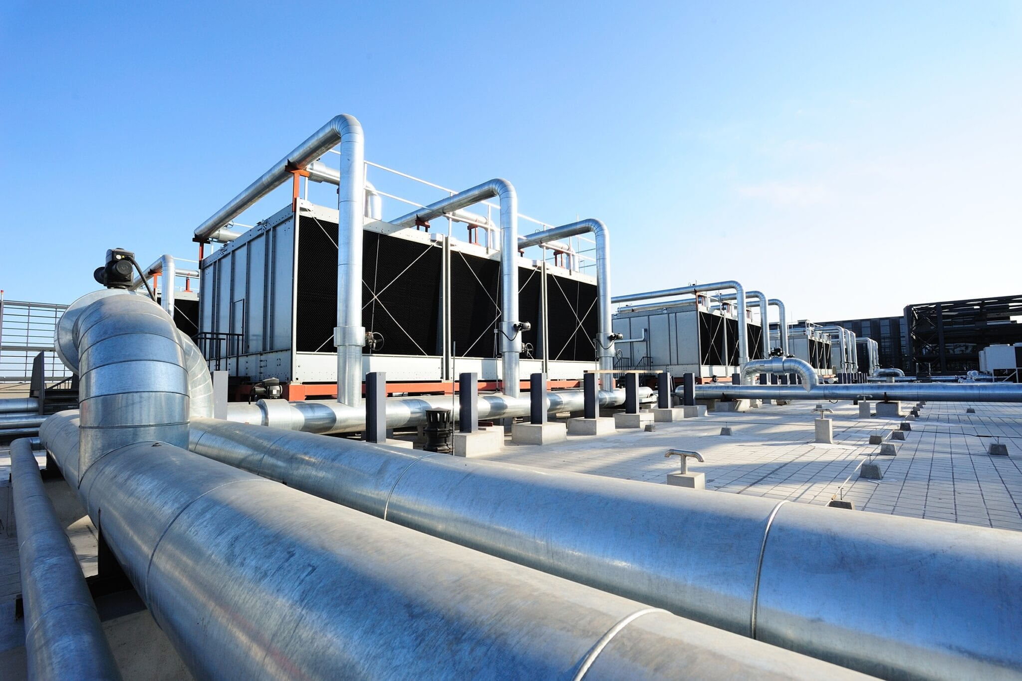 Cooling tower energy monitoring