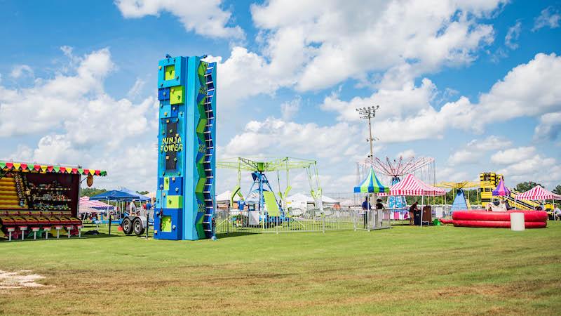 Amusement Masters Carnival Setup