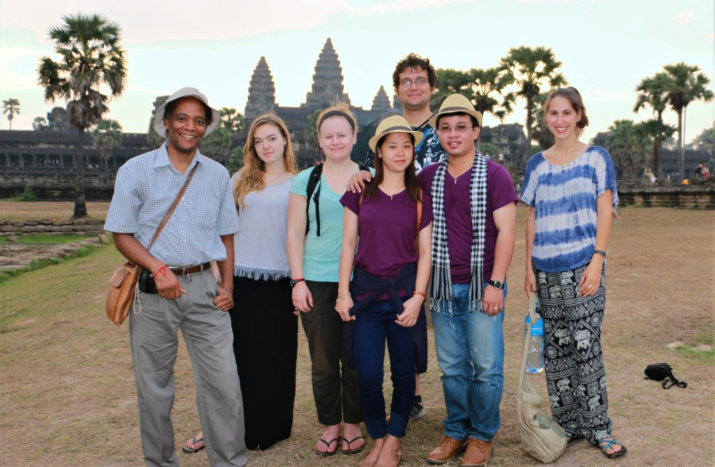 ST with VPs at Ankor Wat