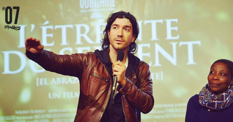 Andrés Barrientos Podcast sobre Cine