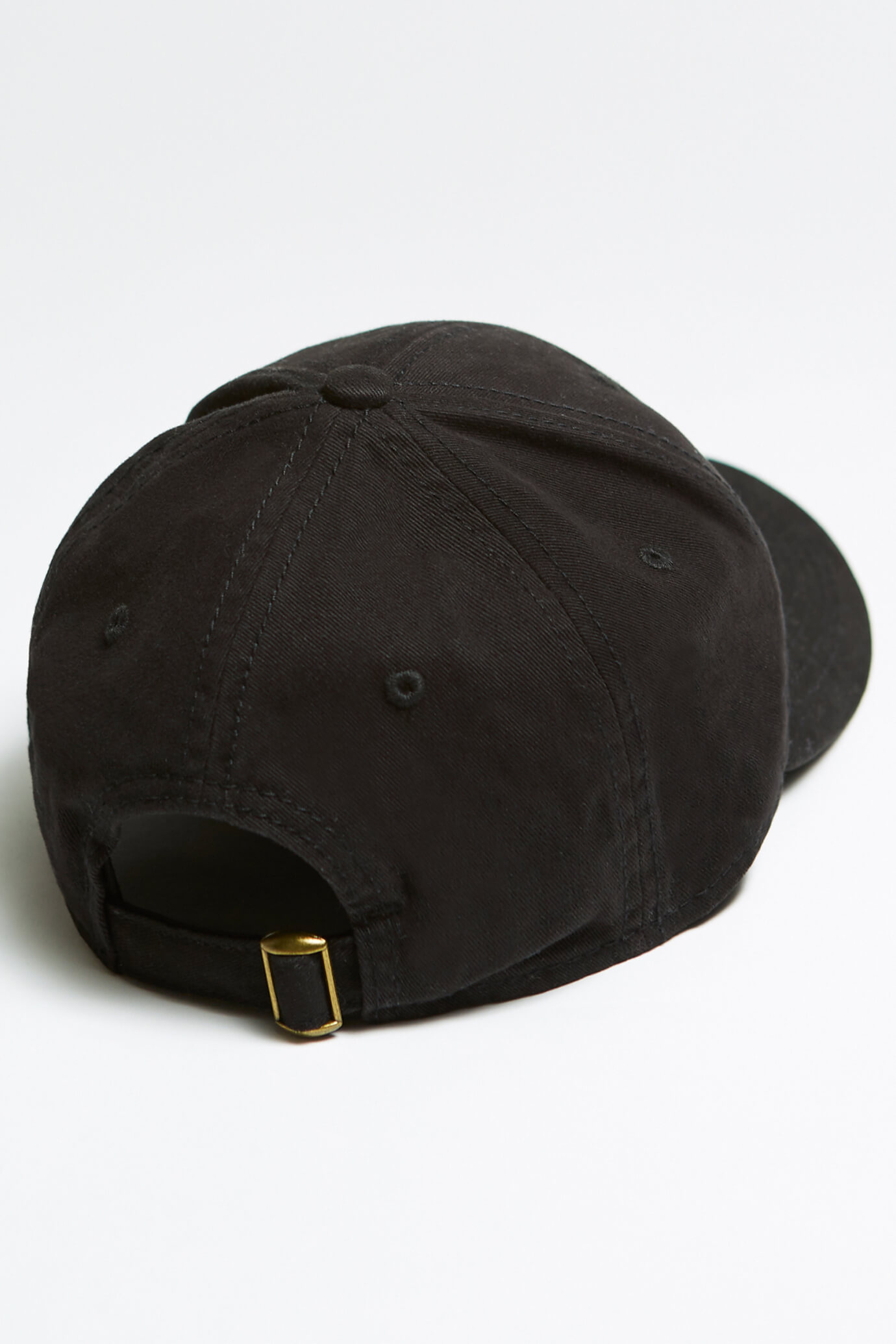 taproot pictures hat in black with rooty back