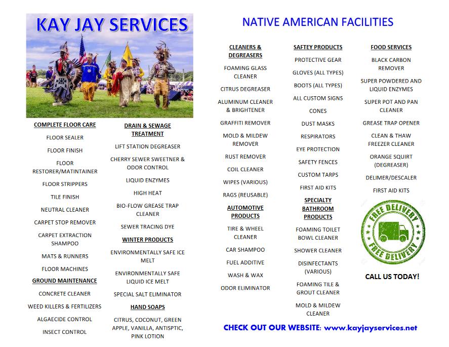 Native Reservations Flyer