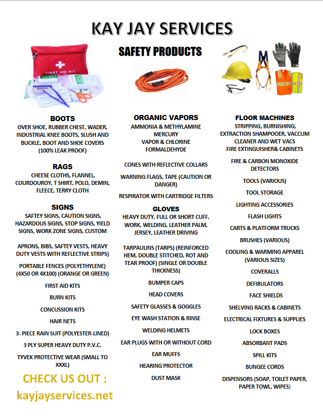 Safety Product Flyer