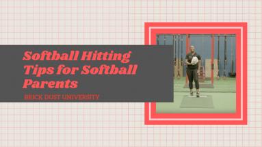 Softball Hitting Tips for Softball Parents