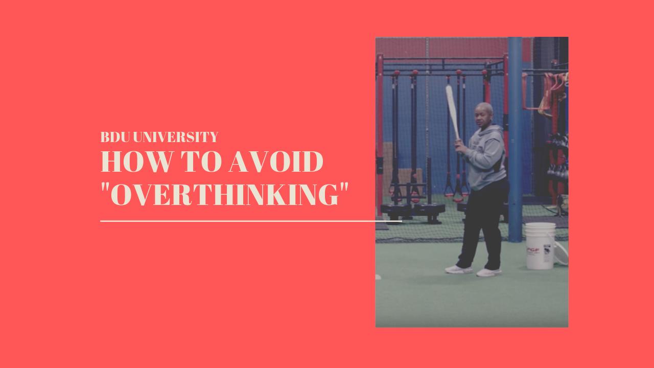 How To Avoid Overthinking: Softball Training Tips For Hitters
