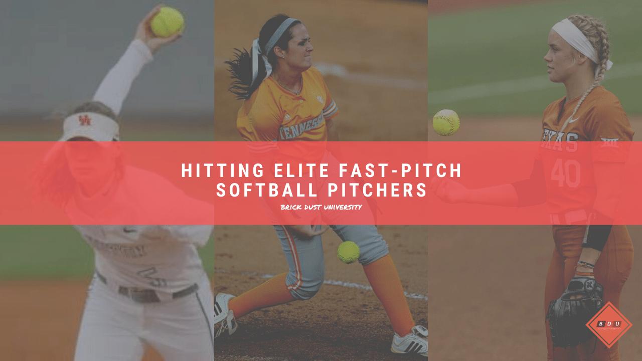 Hitting Elite Fast-pitch Softball Pitchers