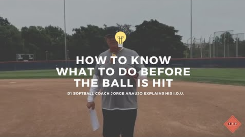 Fastpitch Softball Fielding Drills: How To Know What Do Before The Ball Is Hit.