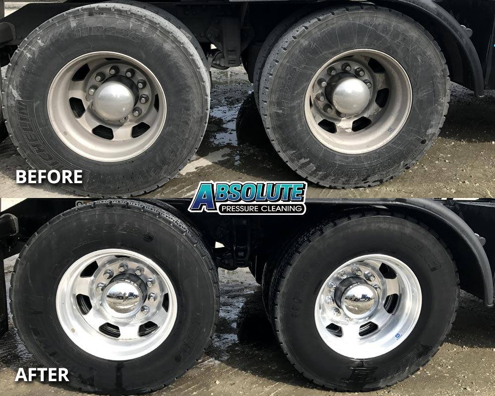 wheels-tires-truck-fleet-washing-before-after-delmarva-md-de