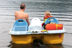 Paddle Boats PAGE-6822 Odell Lake Resort 6-27