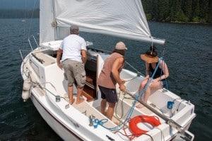Sail Boating PAGE-8532 Odell Lake Resort 8-24