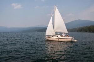 Sail Boating PAGE-8561 Odell Lake Resort 8-24