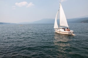 Sail Boating PAGE-8565 Odell Lake Resort 8-24