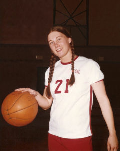 Kathy Hickey Monti's limitless love and passion for helping others was apparent to everybody she met. Her pride for North Catholic began in 1973, when her high school closed and she enrolled in the first co-ed class at North as a junior. Kathy led the charge to keep her school's basketball team together. As a standout guard and the very first team captain of North's first women's basketball program, Kathy and her fellow Trojanettes began a women's basketball dynasty that is alive and continues to thrive today. Following her graduation from North in 1975, Kathy played basketball in college and served as team captain and leader. Soon, she was recruited to come back to North and take on the role of Assistant Basketball Coach for the girl's team and with Coach Don Barth, her mentor, friend and former coach, led them to win multiple state championships. When CWNC opened in Cranberry Township, Kathy continued to volunteer her time at the new school that she loved so dearly until her last breath. In 2017, just before her death, Kathy was voted unanimously into the North Catholic Hall of Fame. Kathy will long be remembered for her impact on hundreds of lives as a teacher, an assistant basketball coach and female role model for girls in athletics. To continue Kathy's legacy and mission in life of helping others, a scholarship has been established in her name. The purpose of the Kathy Monti Memorial Scholarship is to provide financial support for a young woman who possesses the same leadership qualities and passion for basketball that Kathy demonstrated in her life. In order to finance this scholarship and celebrate Kathy's life, we hope you can join us by donating here to raise the necessary funds.