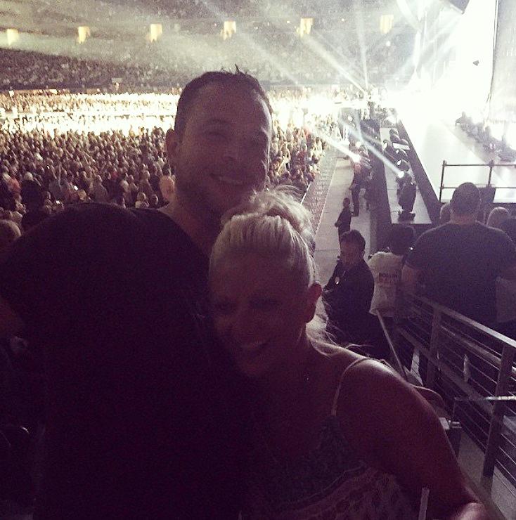 Kris at Concert
