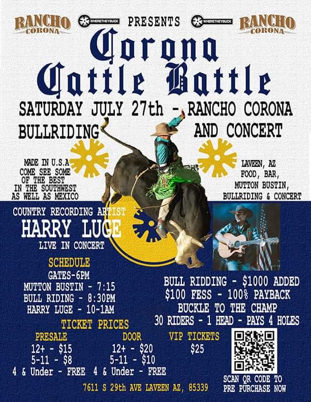Rancho Corona Corona Cattle Battle