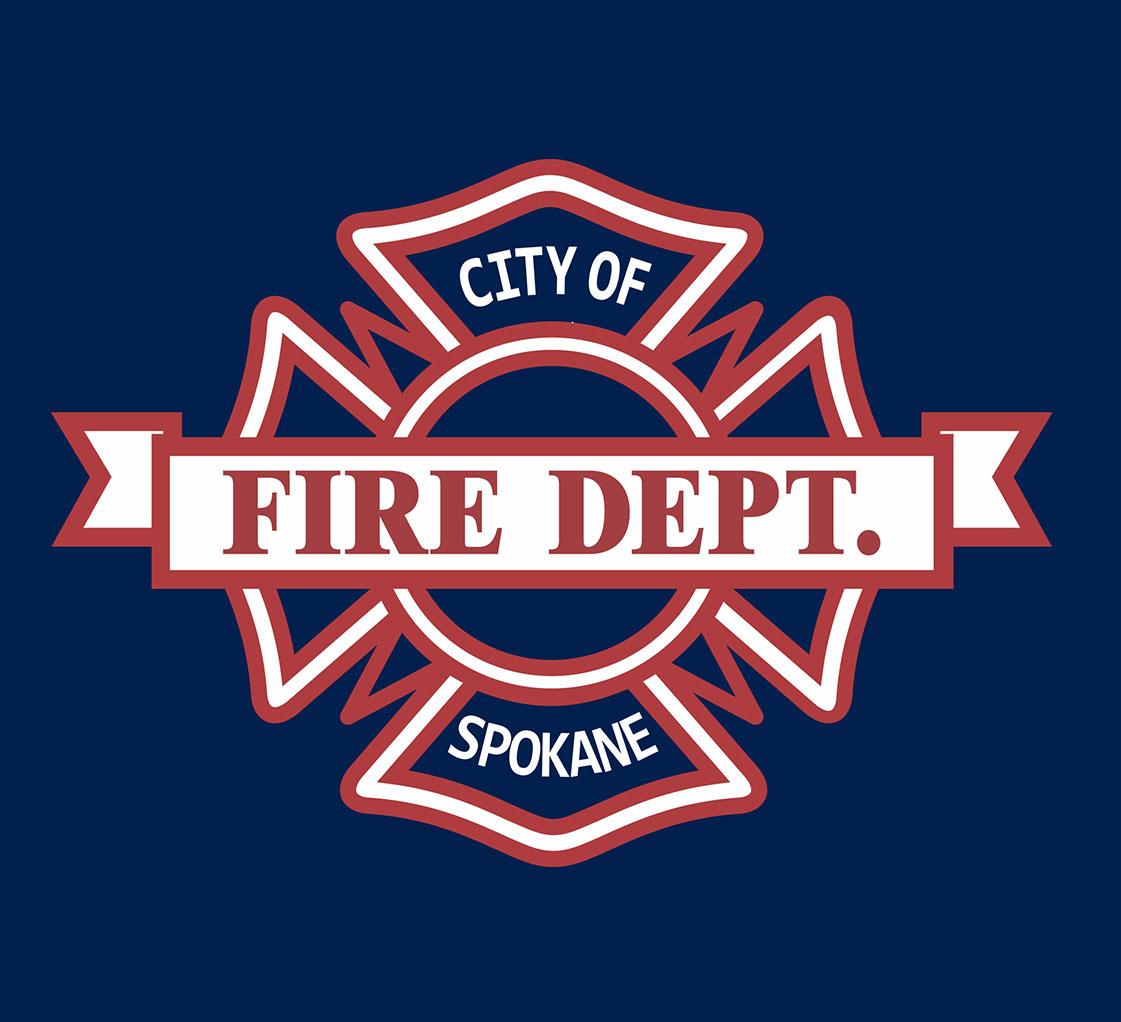 Screen Printing   Spokane Fire Dept T-Shirts