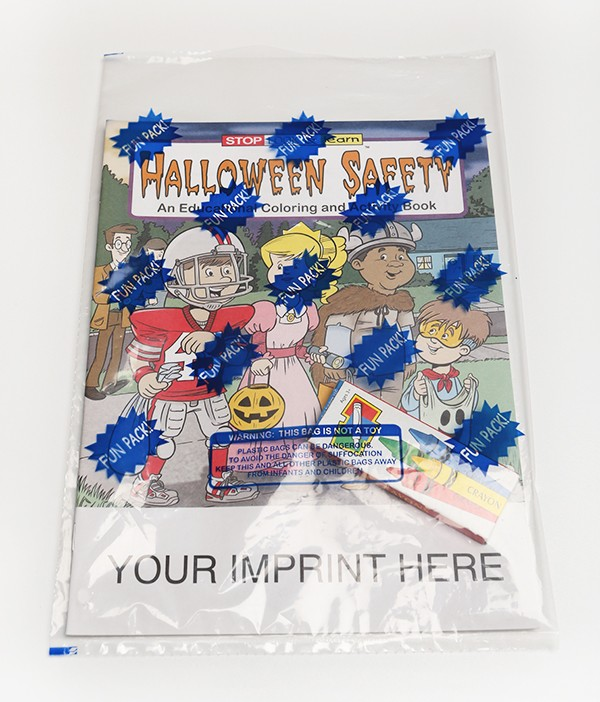 Halloween Safety | Coloring Book
