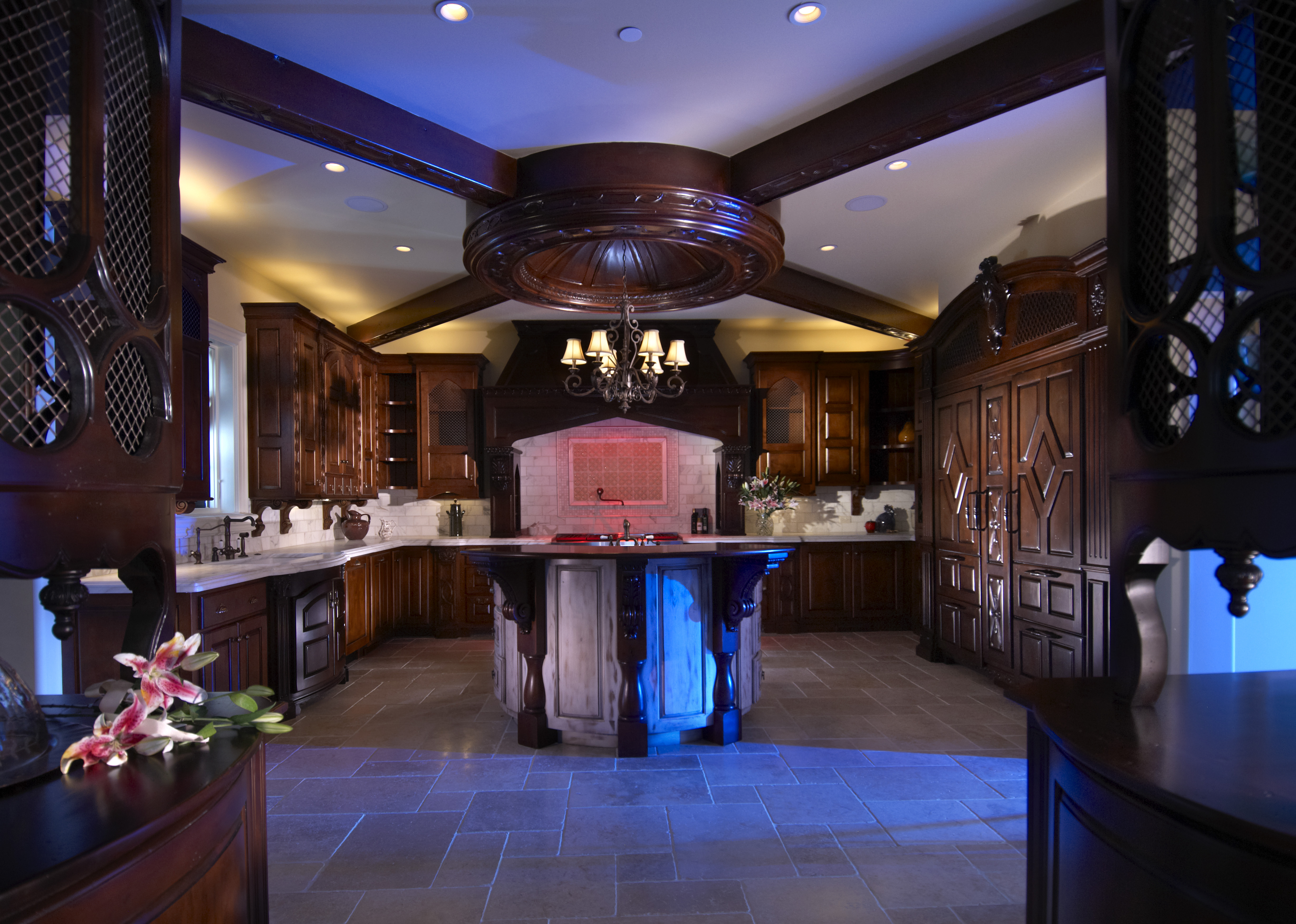 Lodding Kitchen Blue