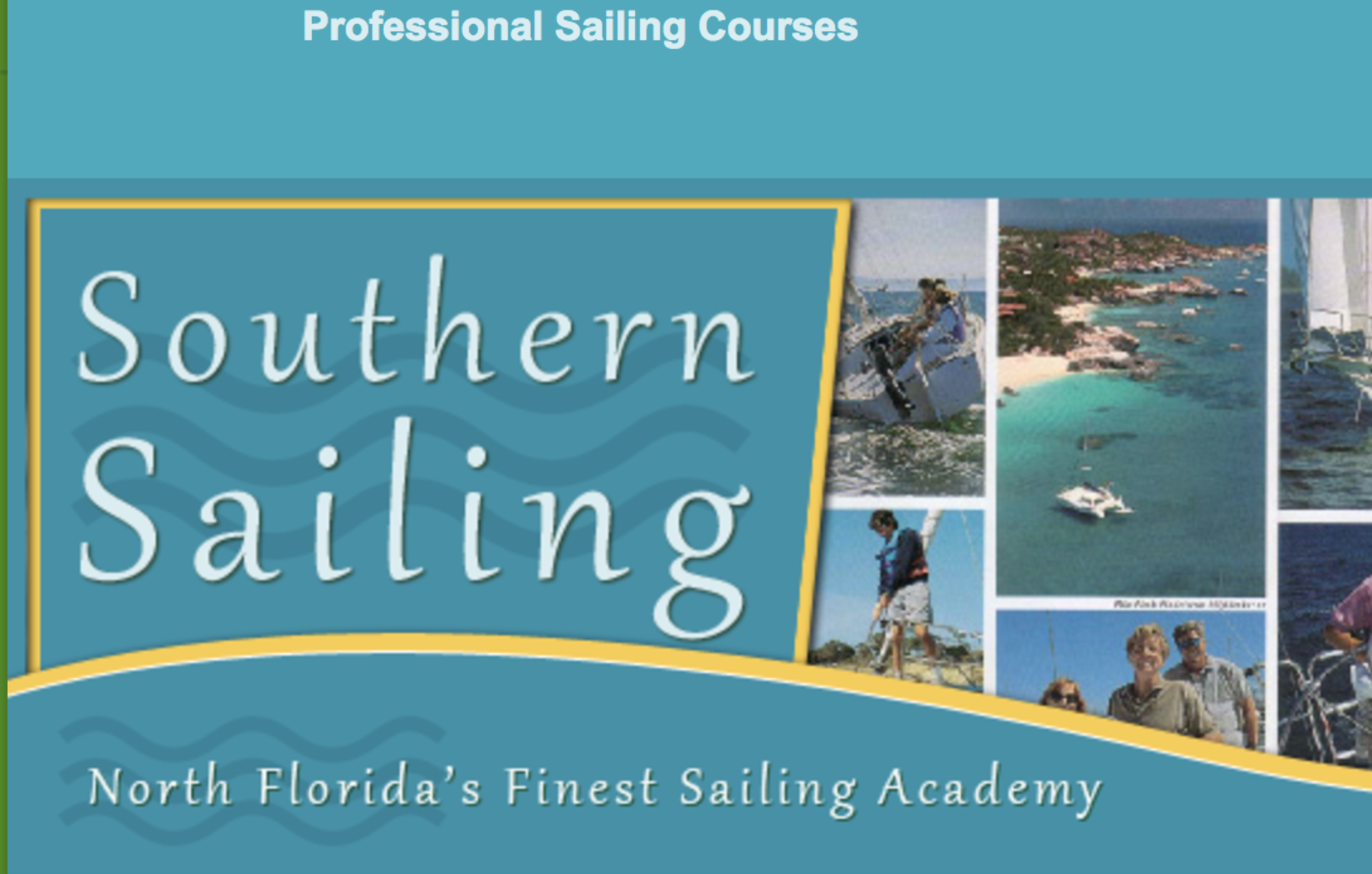 Southern Sailing School + Academy ~~~ 904-728-2161