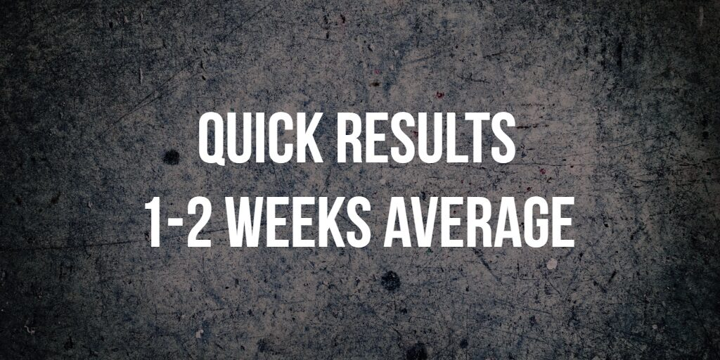 quick results, find you candidates in 1-2 weeks