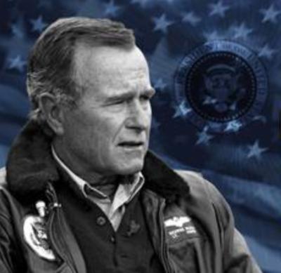 George Bush explains CAVU