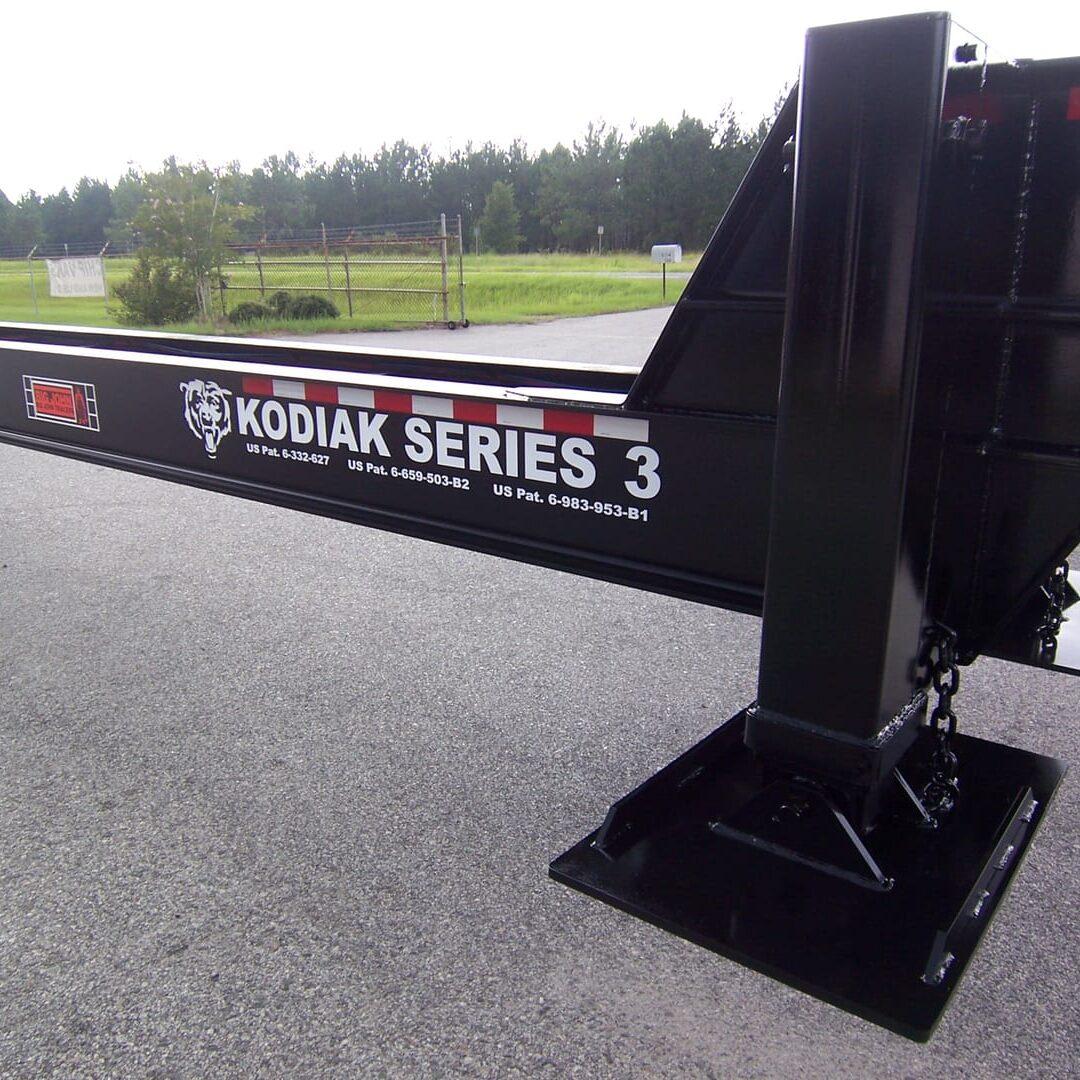1 Kodiak Series Delimber Loader Trailer
