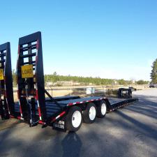 2 35-55 Ton Non-Ground Bearing Detachable Gooseneck Lowboy