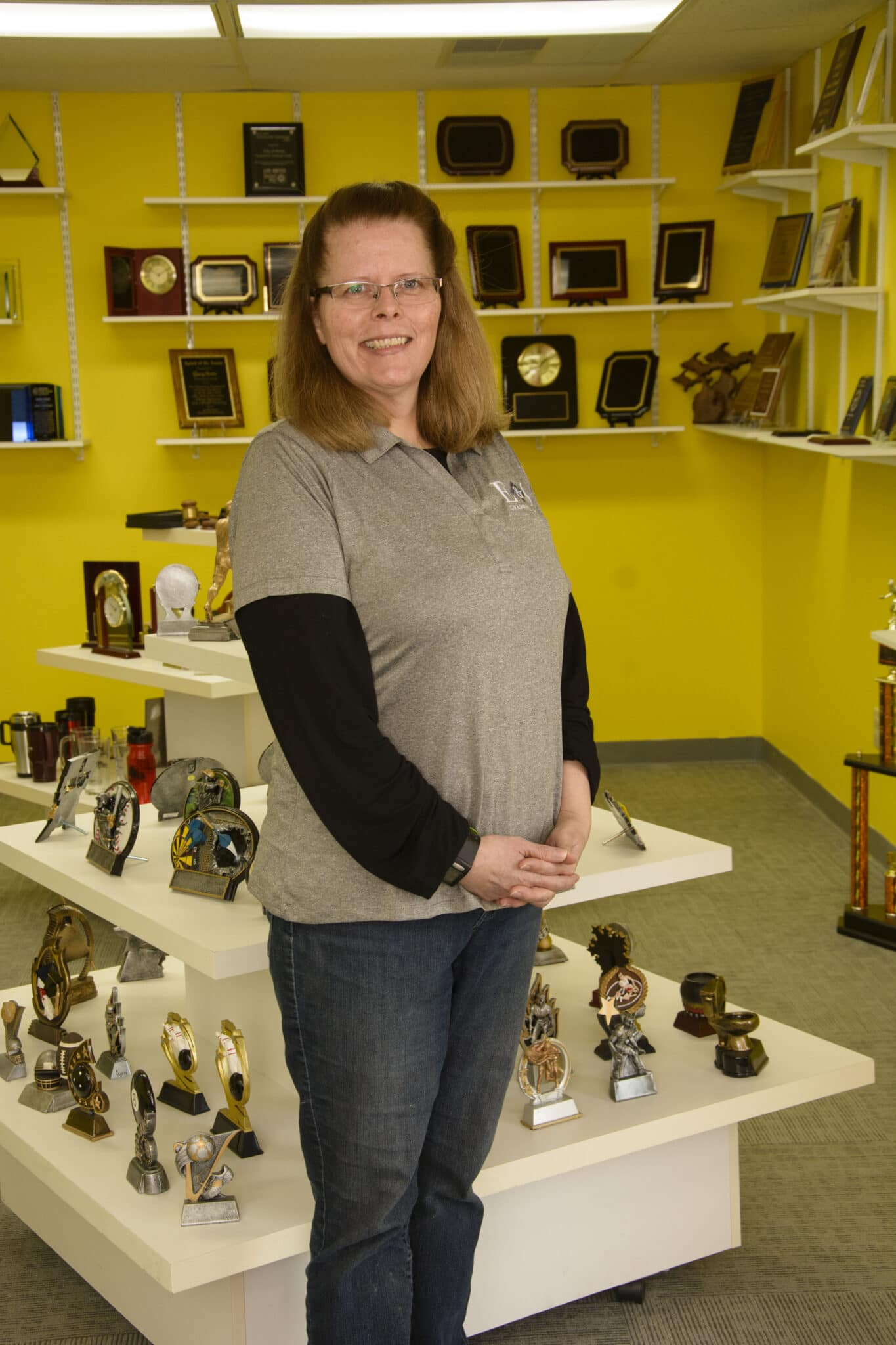 Jane Reinsmith, Engraving Production Manager, E & S Graphics