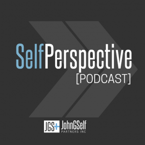 SelfPerspective Podcast with JGSP logo