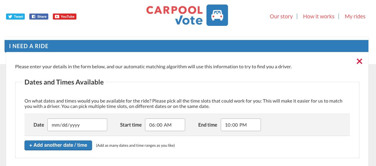 carpool vote