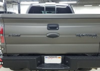 Raptor Wrap Satin Metallic Gray 15