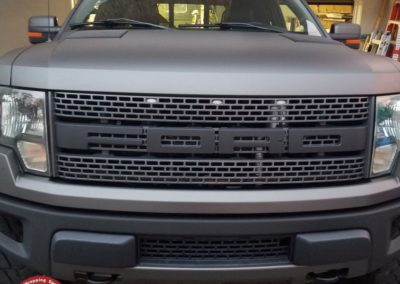 Raptor Wrap Satin Metallic Gray 7