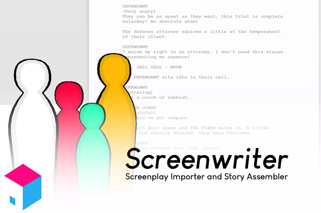 Screenwriter for Unity now available in the Asset Store