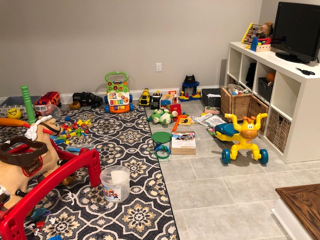 Playroom 2019 Before