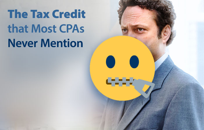 The Tax Credit that Most CPAs Never Mention