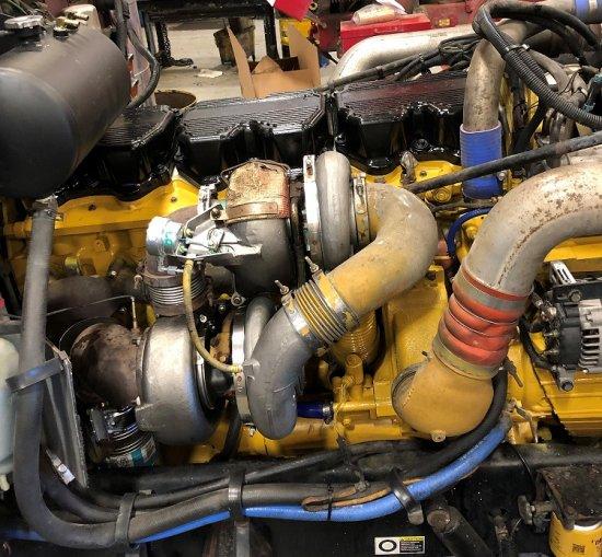 Cat Truck Engine