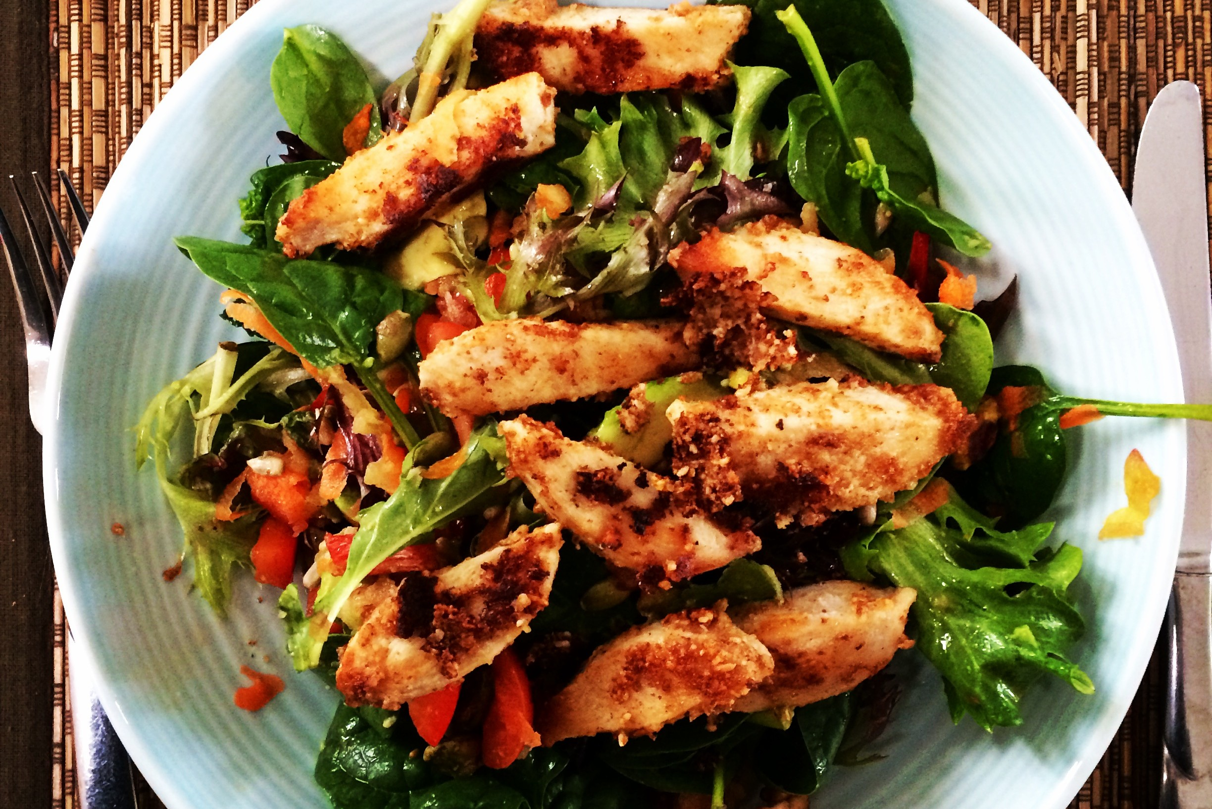 Chicken and Pistachio Salad