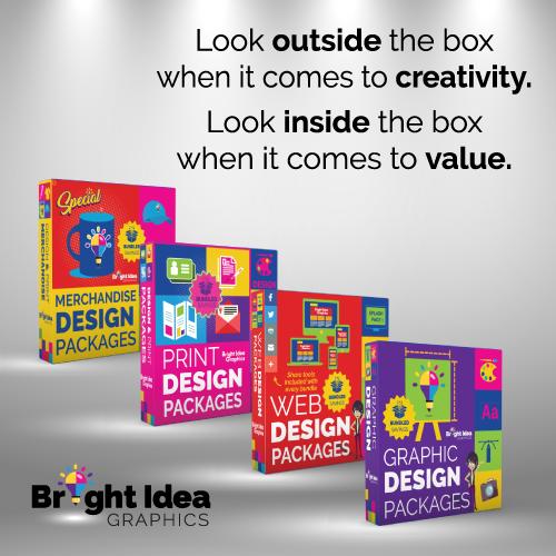 Bright Idea Graphics Web Design Packages