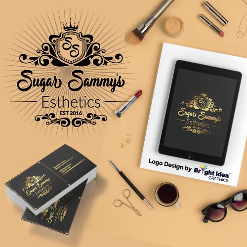 Bright-idea-graphics-logodesign-sugar-sammys-esthetics