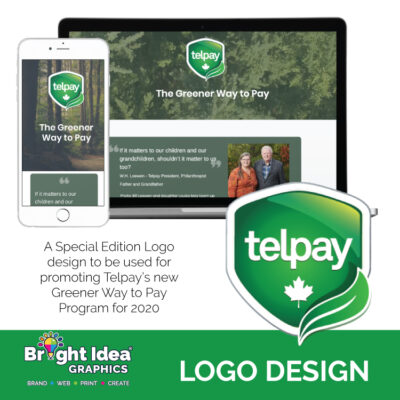 logo-design-telpay-greener-way-to-pay