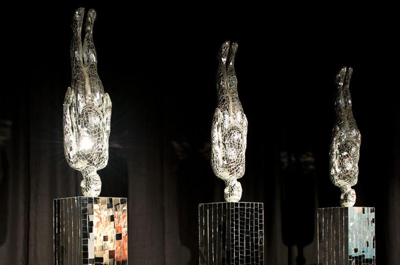 "Li Wei's ""Mirror's Hand"" sculptures"