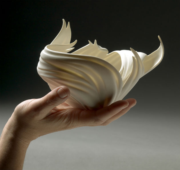 Jennifer McCurdy Flame Vessel in Hand