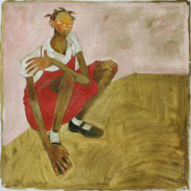 Olivia-Pendergast-Redjumper-Girl-in-orphanage 630in-Haiti1